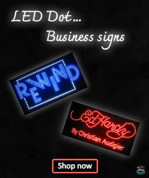 LED Dot Signs