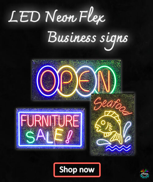 LED Business Neon Signs
