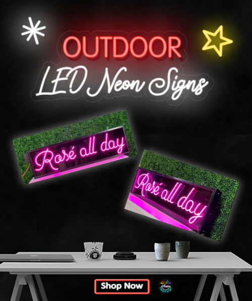 Outdoor LED Neon Signs